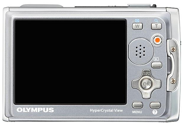 Olympus Stylus TOUGH-6020 Digital Camera - back