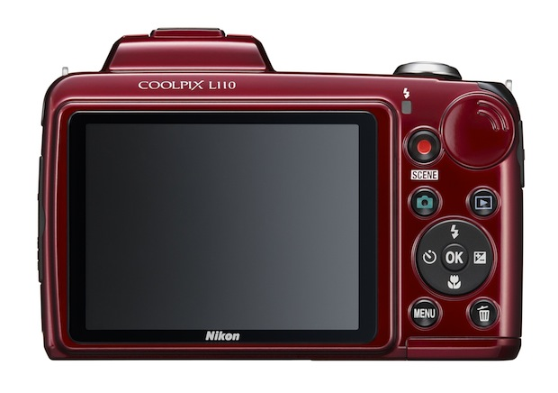 Nikon Coolpix L110 Digital Camera - back