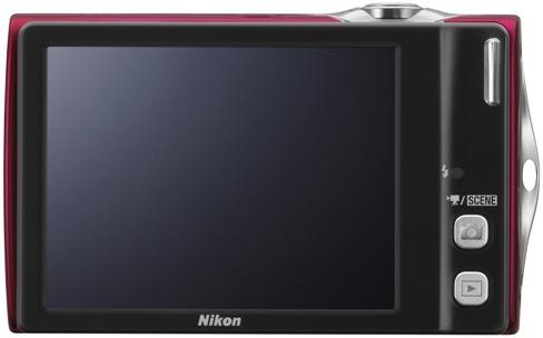 Nikon Coolpix S4000 Digital Camera - back
