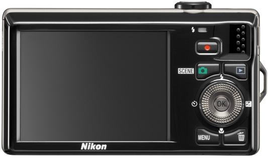 Nikon Coolpix S6000 Digital Camera - back