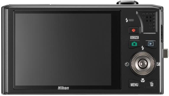 Nikon Coolpix S8000 Digital Camera - back
