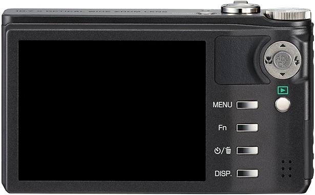 Ricoh CX3 Digital Camera - back