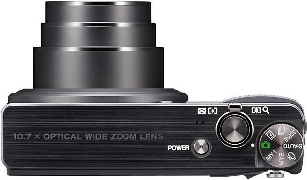 Ricoh CX3 Digital Camera - top