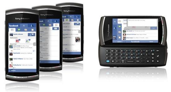 Sony Ericsson Vivaz pro Smartphone