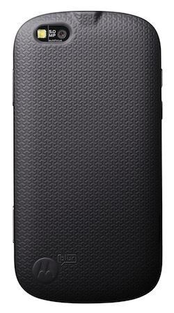 Motorola CLIQ XT / QUENCH Smartphone with MOTOBLUR - Back