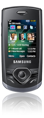 Samsung Shark Slider S3550 Cell Phone