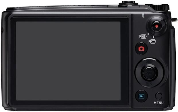 Casio EX-FH100 Exilim Digital Camera - Back
