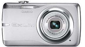 Casio EX-Z550 Exilim Digital Camera - Silver