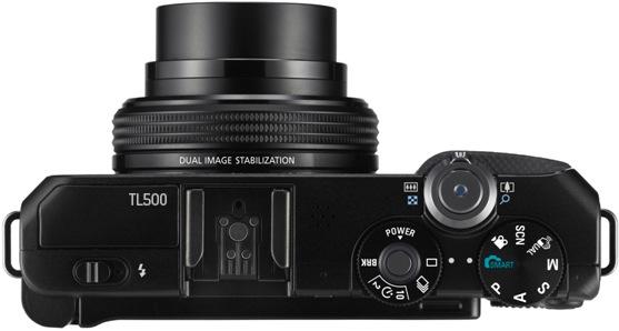 Samsung TL500 Digital Camera - Top