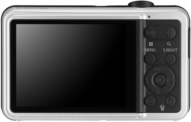 Samsung SL605 Digital Camera - Back