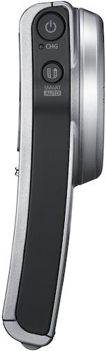 Samsung HMX-U20 Pocket HD Camcorder - Side