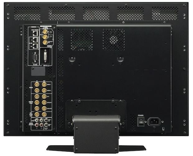 JVC Professional DT-V24G1Z LCD Monitor - Back