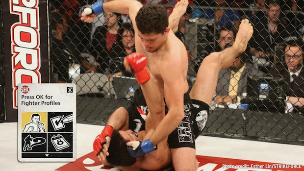 Strikeforce Challengers MMA on Showtime Sports Interactive TV