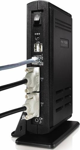 Dell FX100 zero client solution