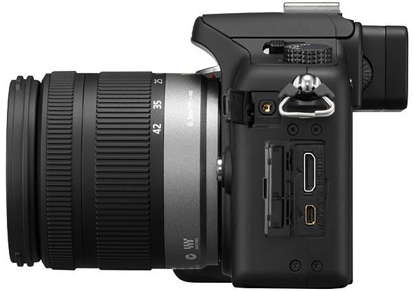 Panasonic DMC-G10 Micro Four Thirds Digital Camera - side
