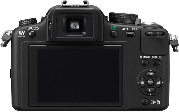 Panasonic DMC-G10 Micro Four Thirds Digital Camera - back