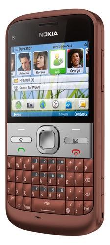 Nokia E5 Symbian Smartphone - Copper