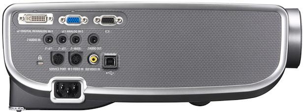 Canon REALiS SX7 Mark II D Multimedia Projector - Side