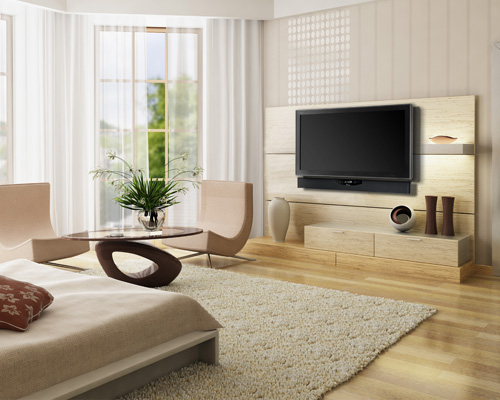 Aperion Audio Signature SLIMstage30 Soundbar - Room