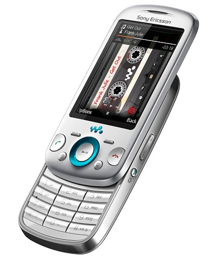 Sony Ericsson Zylo with Walkman Cell Phone - Silver