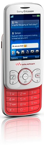 Sony Ericsson Spiro with Walkman Cell Phone - pink