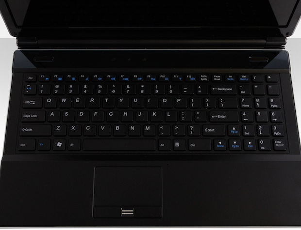 Maingear eX-L 15 Gaming Notebook - Keyboard