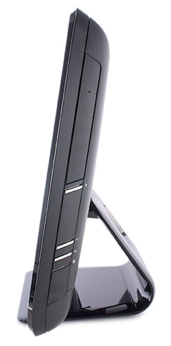 HP All-in-One 200 Desktop PC - Side View