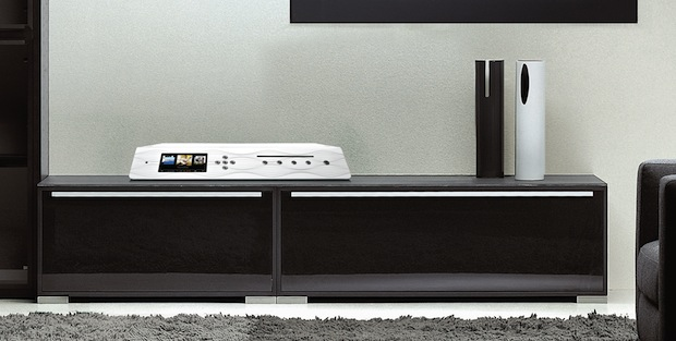 Olive Limited Edition Digital Music System in room