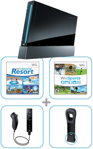Nintendo Wii Console Contents