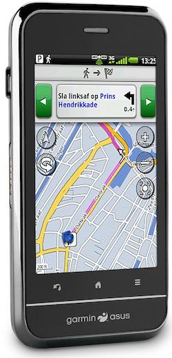 Garmin-Asus A10 Navigation Smartphone