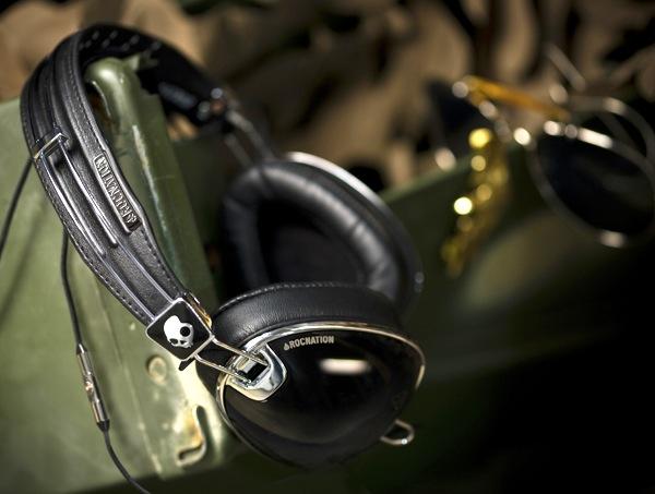 Skullcandy Roc Nation Aviator Headphones - Black