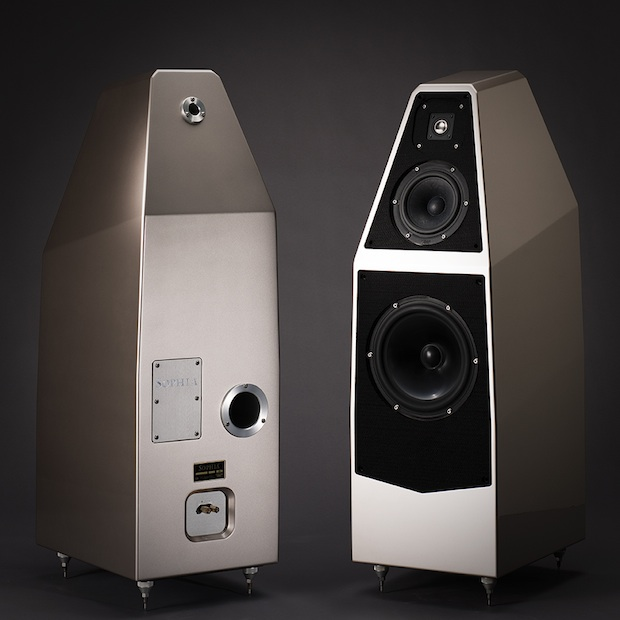 Wilson Audio Sophia Series 3 Loudspeakers - Front and Back