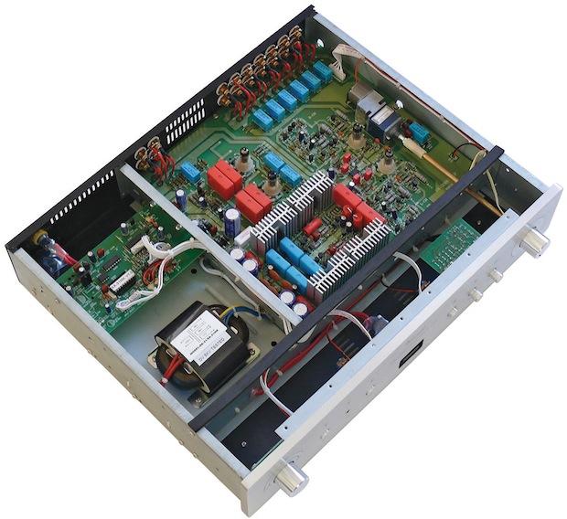 Vincent Audio SA-31MK Hybrid Vacuum Tube Preamplifier - Inside
