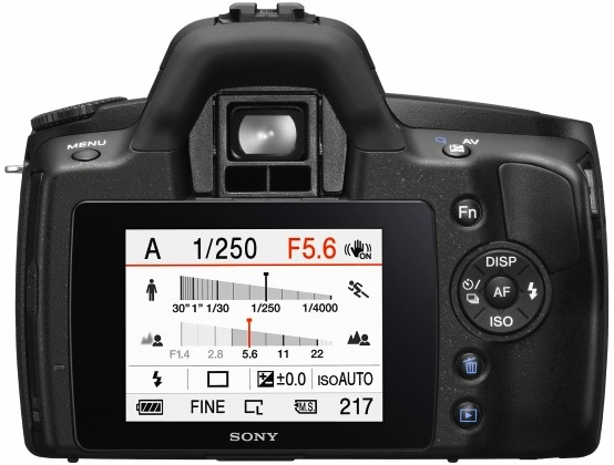 Sony DSLR-A290 Digital Camera
