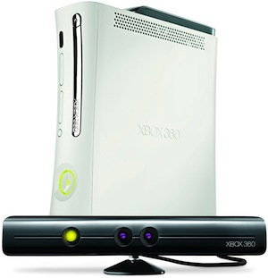 Microsoft Kinect with Xbox 360 Console
