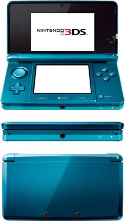 Nintendo 3DS - Blue