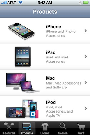 Apple Store App Products
