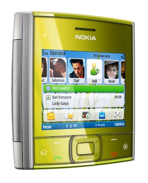 Nokia X5 Smartphone - Yellow