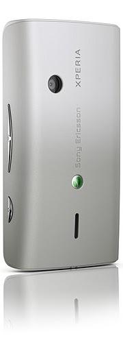 Sony Ericsson Xperia X8 Smartphone - Silver Back