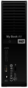 WD My Book AV DVR 1TB Expander