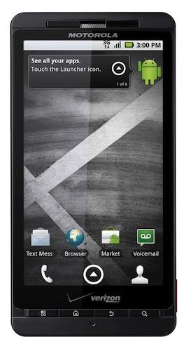 Motorola DROID X Smartphone - Front