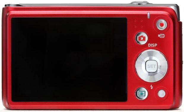 Casio EX-H5 Exilim Hi-Zoom Digital Camera - Red Back