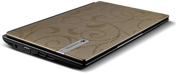 Gateway LT23 Series Netbook - champagne