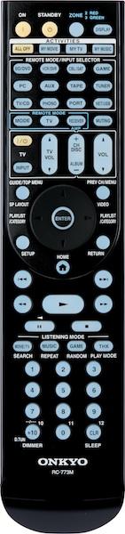Onkyo TX-NR3008 and TX-NR5008 Remote