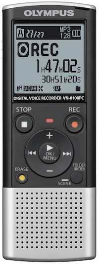 Olympus VN-8100PC Digital Audio Recorder