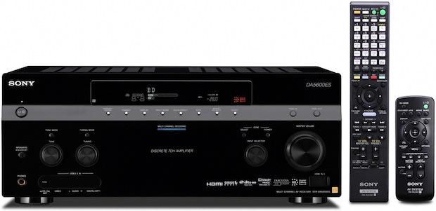 Sony STR-DA5600ES STR-DA5600ES 7.1 Channel Network Multi-room AV Receiver with Remotes
