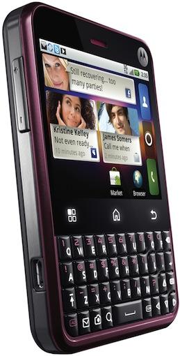 Motorola CHARM with MOTOBLUR Smartphone