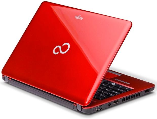 Fujitsu LifeBook PH520 Notebook - Back