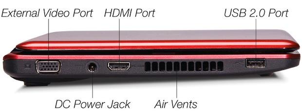 Fujitsu LifeBook PH520 Notebook - Left