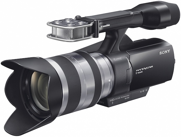 Sony NEX-VG10 Interchangeable Lens HD Camcorder
